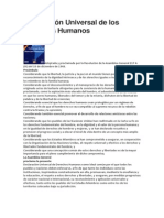 Declaración Universal de los Derechos Humanos-1948
