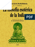 Filosofia Esoterica de La India