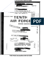 AAF Tenth Air Force History - Part 1 (1943)