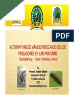 Alternativas Al Manejo de Trozadores de Los Pastos (Fdn Nutrientes 2010)