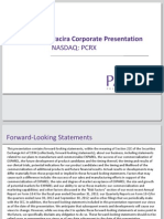 PCRX_Corporate Presentation February 2013 v8 JC (1) (Deleted e327c50cda1079ca1add97d043ce03cc)