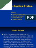 Final Online Grading System