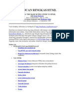 Panduan Ringkas HTML