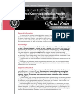2012 National Oratorical Rules Brochure