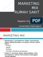Marketing Mix Rumah Sakit