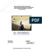 El Kikimbol Naomy Valdez