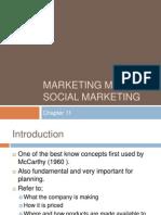 Marketing Mix in Social Marketing