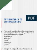 5 Desigualdades de Desenvolvimento