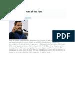 Arvind Kejriwal Talk of the Town                        By Engineer Astrologer anil aggarwala
