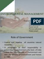 Environment Mgmt