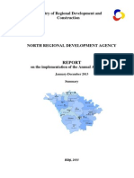 REPORT on the implementation of the Annual Activity Plan / North RDA / January-Decembber 2013
