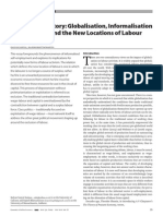 Beyond the Factory Globalisation Informalisation of Production and the New Locations of Labour