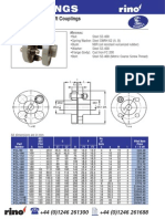XC Flanged Couplings