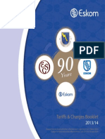 Eskom Tarriffcharges Booklet 2013-14 for Print
