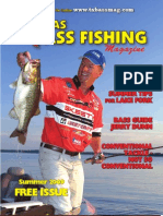 Texas Bass Fishing Mag Summer