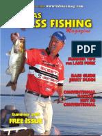 Texas Bass Fishing Mag Summer