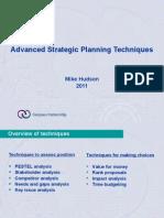 Advanced planning