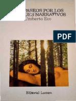ECO, Umberto, Seis Paseos Por Los Bosques Narrativos