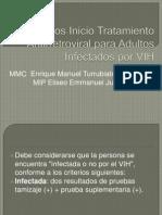 Criterios Inicio Tratamiento Antirretroviral Para Adultos Infectados Por VIH