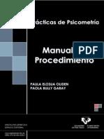 00 Practicas de Psicometria-Manual de Procedimiento