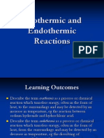 Exothermic and Endothermic Reactions Ppt
