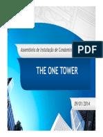Apresentação Assembleia The one - ATUALIZADA