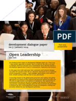 Open Leadership | Development dialogue paper no.5