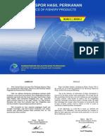 Statistik Ekspor dan Impor Hasil Perikanan Indonesia Tahun 2011