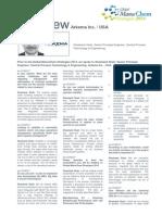 Global ManuChem Strategies 2014