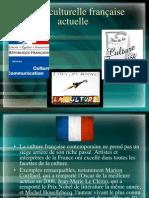 La vie culturelle française actuelle