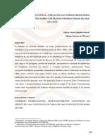 A RELAÇÃO DAS NORMAS BRASILEIRAS  COM AS CONVENÇÕES SOBRE CONTRATOS INTERNACIONAIS DA OEA,  ONU E UE