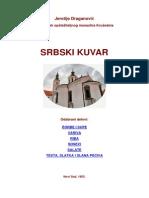 MANASTIRSKI KUVAR Stari Serbski Kuvar Web