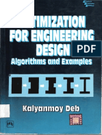 Optimization For Engineers By Kalyanmoy Deb