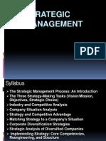 Intro to Strategic Marketing