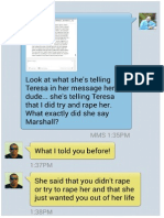 Full Marshall Conversation