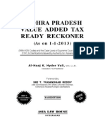 Apvat Ready Reckoner 2013
