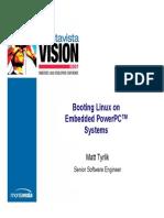 IBM Porting Linux on PPC