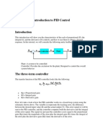Introduction to PID Control