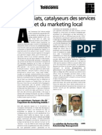 Les partenariats, catalyseurs des services géolocalisés et du marketing local