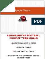 Lenoir Rhyne Kickoff