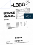 Canon l300 Service Manual