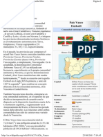 País Vasco - Wikipedia, la enciclopedia libre