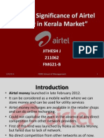 Scope & Significance of Airtel Money in Kerala
