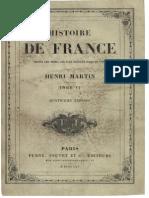 H.martin - Histoire de France - Tome 6