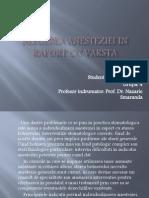Alegerea Anesteziei in Raport Cu Varsta