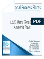 1620 Metric Tons/Day Ammonia Plant