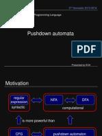 Pushdown Automata - by Emmanuel Afriyie