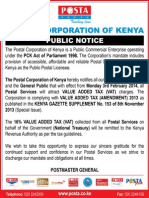 Pck Public Notice Advert Jan 2014