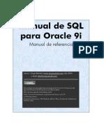Manual de SQL Para Oracle 9i Jorge Sanchez Resubido