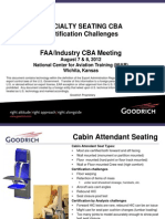 Goodrich Crew Seating CBA Issues-Challenges